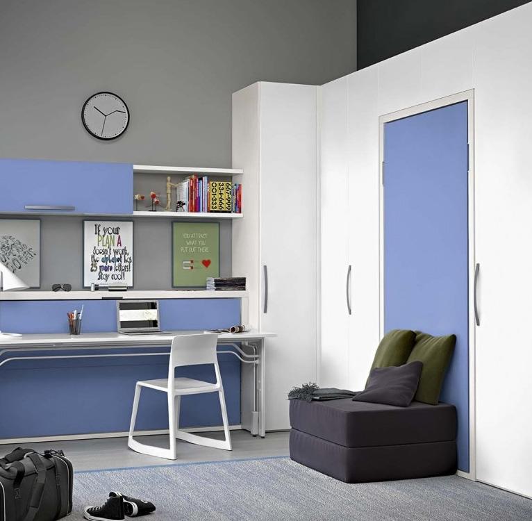 Camere per ragazzi salvaspazio trasformabili konvert for Spinelli arredamenti