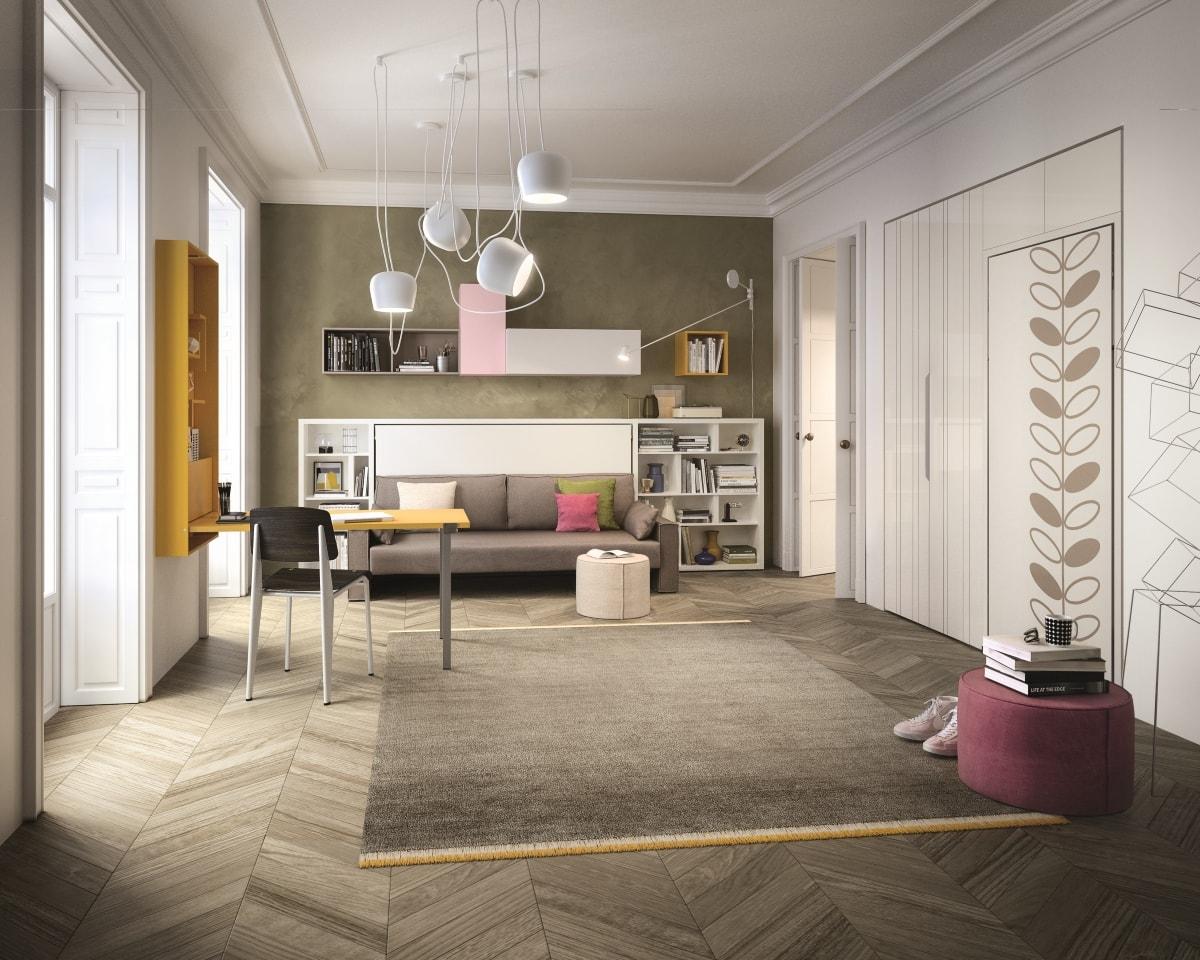 Le pi belle camerette trasformabili konvert arredamenti for Arredamenti trasformabili
