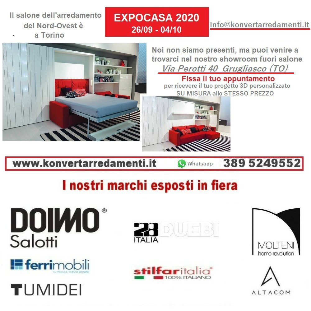 Expocasa 2020: Il salone dell'arredamento di Torino